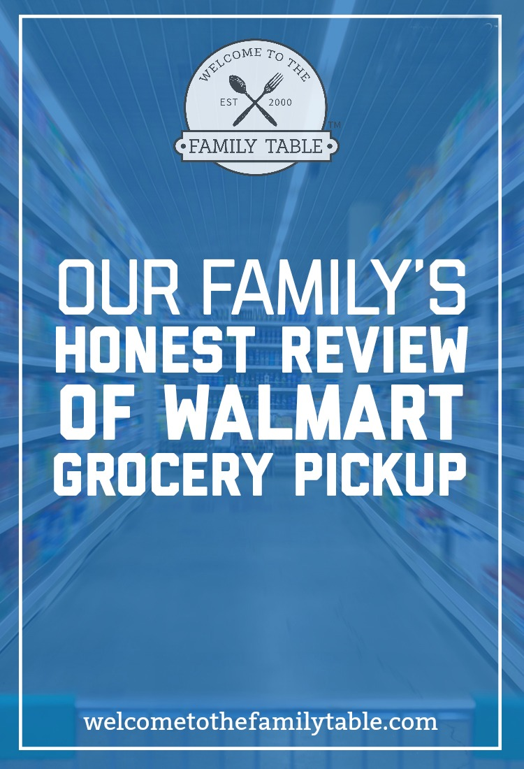 Our Family's Honest Review of Walmart Grocery Pickup