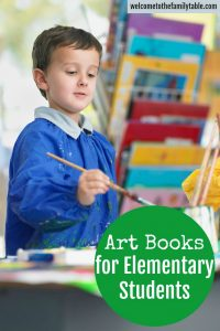 Art Books for Elementary Students