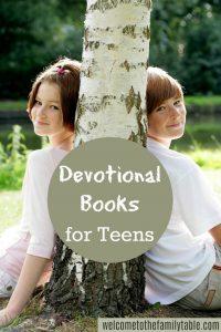 Devotional Books for Teens