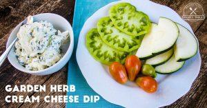 Herb Cream Cheese Dip