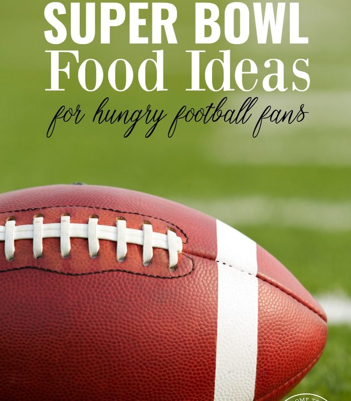 Looking for some new recipe ideas for the big game? These 25 super bowl food ideas are perfect for your hungry football fans!