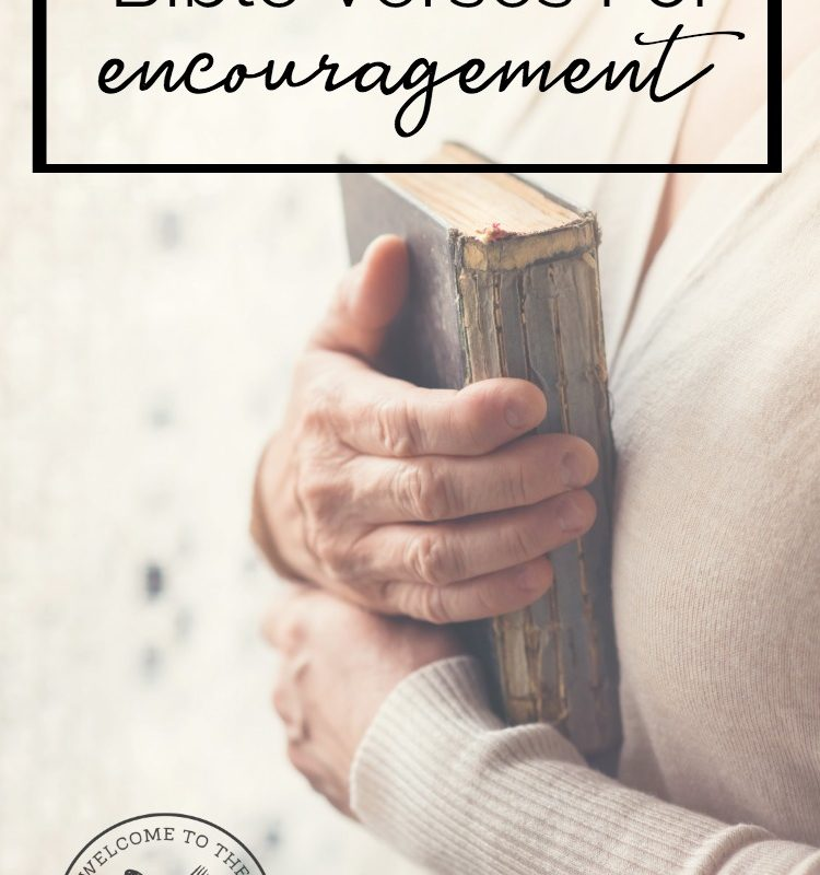 Are you or someone you know facing a difficult season of life? If so, God's Word can see you through. Come see how these Bible verses for encouragement can help!