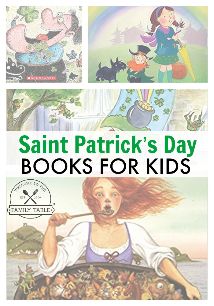 Saint Patrick's Day Books for Kids