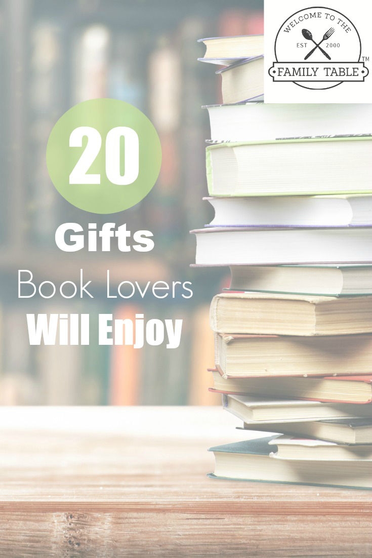 20 Gifts Book Lovers Will Enjoy