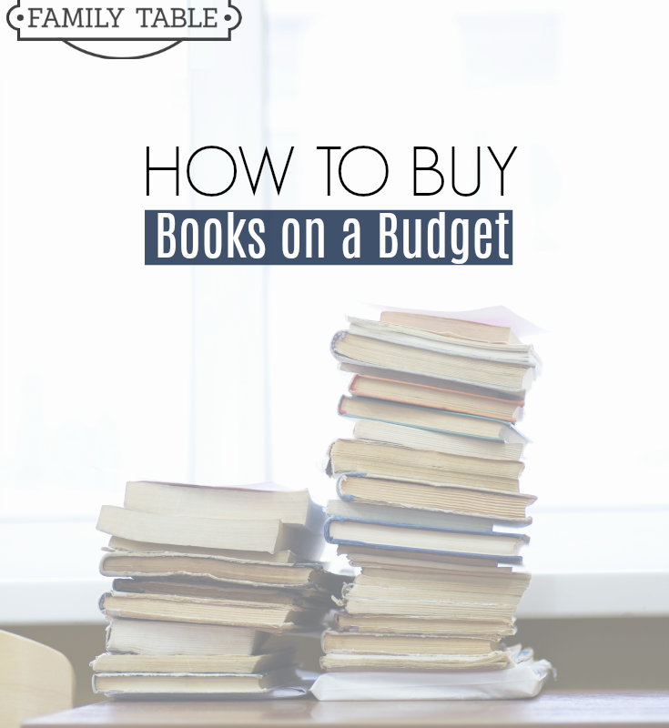 How to Buy Books on a Budget