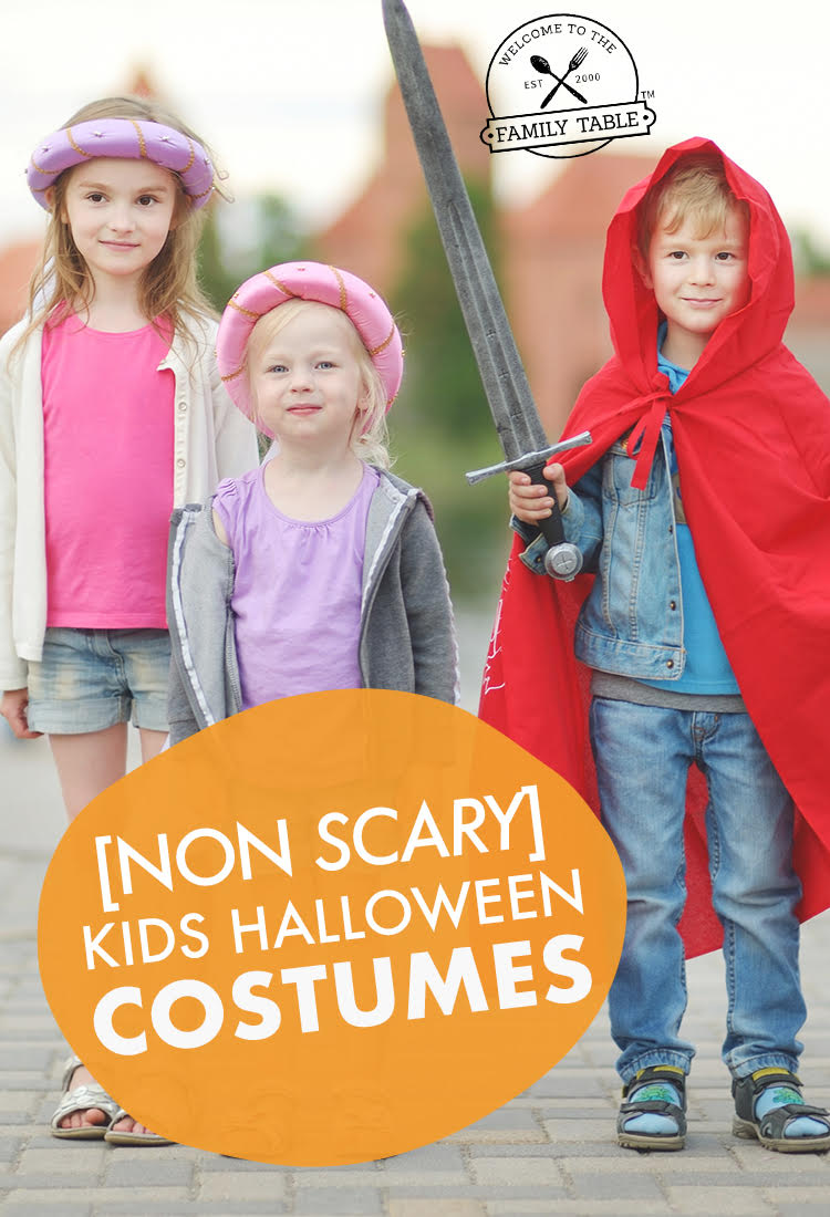 (NON SCARY) Kids Halloween Costumes