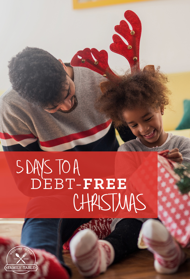5 Days to a Debt-Free Christmas