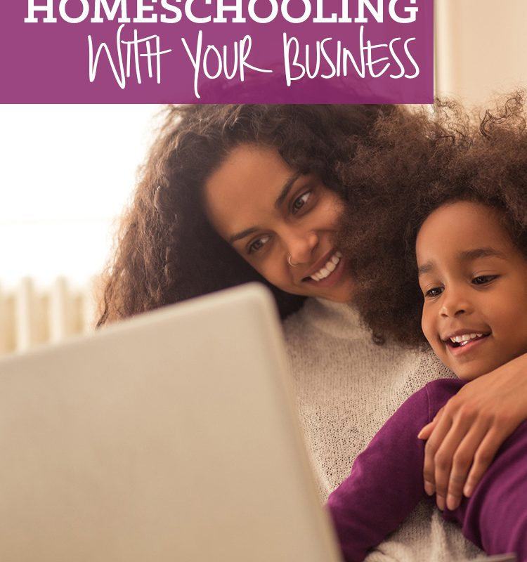 Are you a homeschooling mom who works at home? Are you struggling to find balance? Come see how to balance homeschooling with your business.