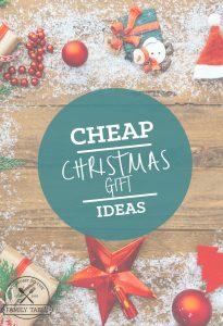 Cheap Christmas Gift Ideas