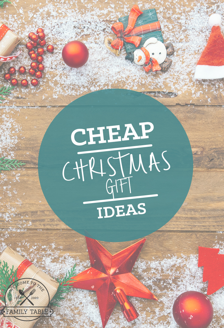 Cheap Christmas Gift Ideas