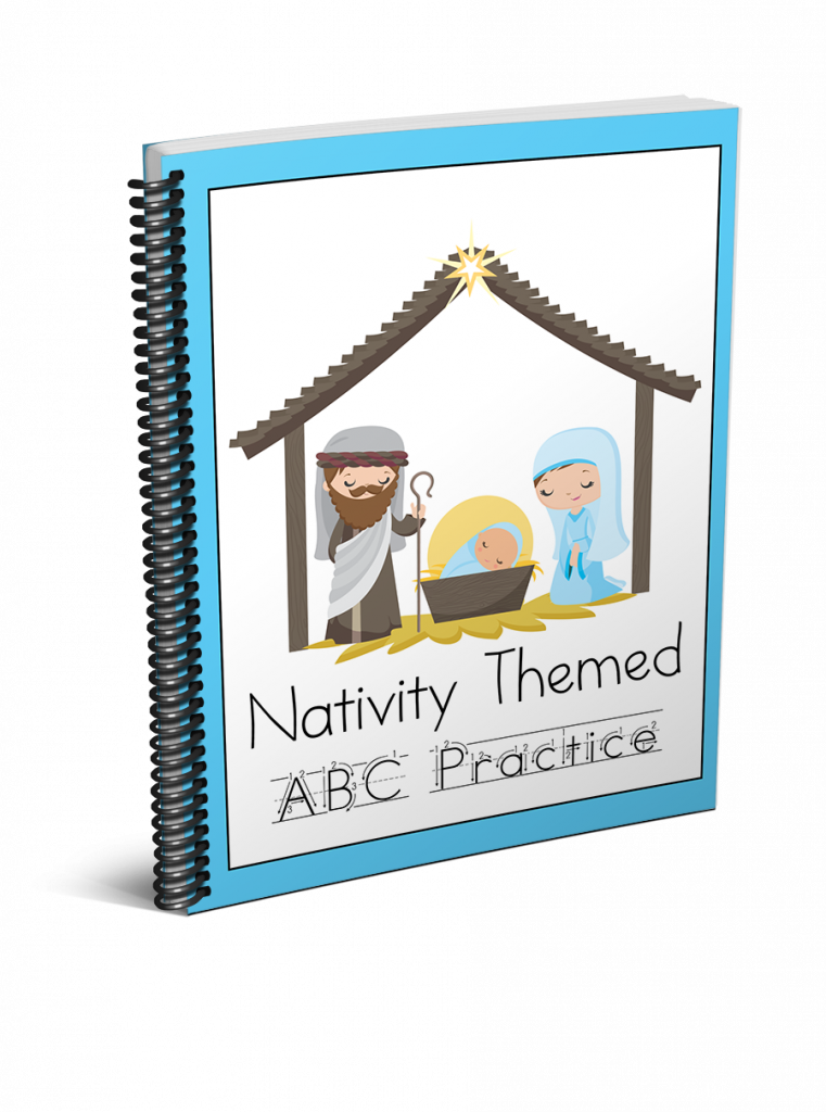 Looking for a great Christmas themed preschool activity? Our Nativity preschool handwriting printables are the perfect choice!