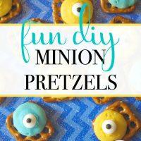 Fun DIY Minion Pretzels