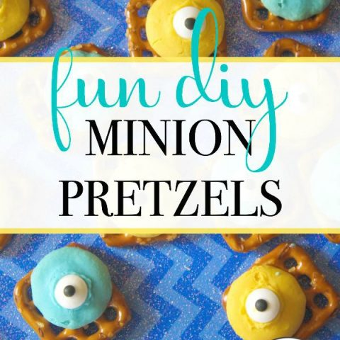 Fun DIY Minion Pretzels