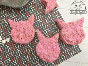 Hogs + Kisses Valentine Rice Krispie Treats FB - WelcomeToTheFamilyTable.com