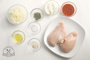 Ingredients - Lasagna Keto Stuffed Chicken - Welcome to the Family Table