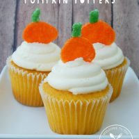 White Chocolate Pumpkin Toppers