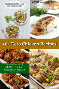 Looking for some delicious Keto chicken recipes? Here are 40+ for you to enjoy! Welcome to the Family Table®
