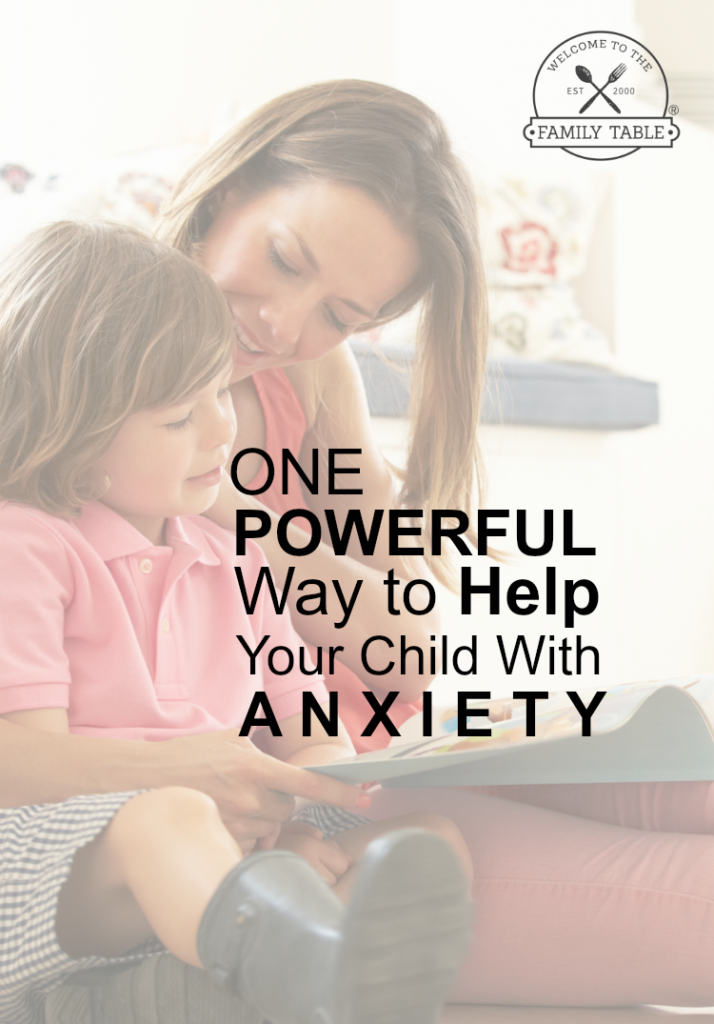 Do you have a child that struggles with anxiety? Come discover one powerful way to help your child with anxiety today!