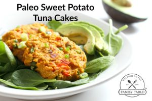 Paleo Sweet Potato Tuna Cakes