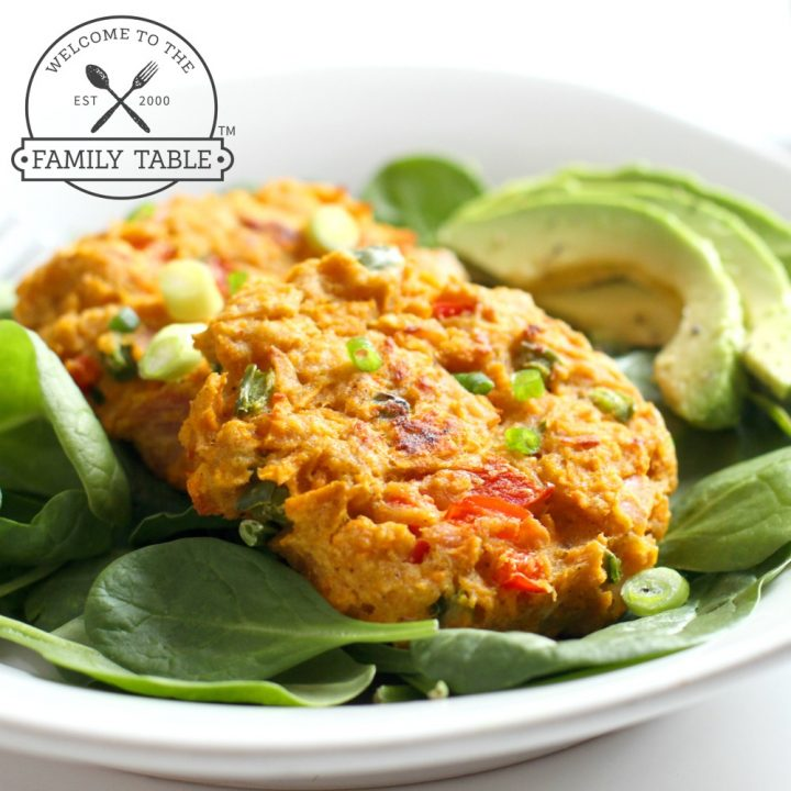 Paleo Sweet Potato Tuna Cakes