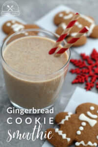 Looking for a delicious Gingerbread Cookie Smoothie Recipe