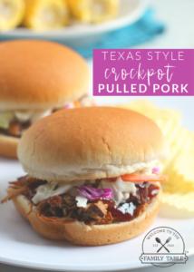 Texas Style Crockpot Pulled Pork