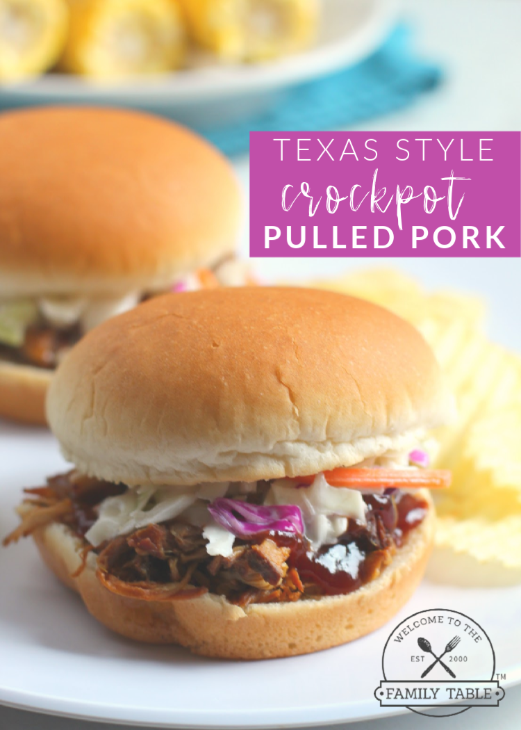 Texas Style Crockpot Pulled Pork