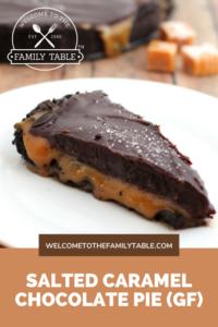 Salted Caramel Chocolate Pie Recipe