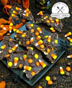 Halloween Chocolate Bark