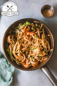 Keto Shrimp Pad Thai